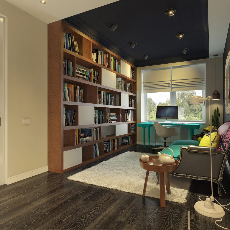 Modern Contemporary Home Decor: Modern Pop Art Style Apartment