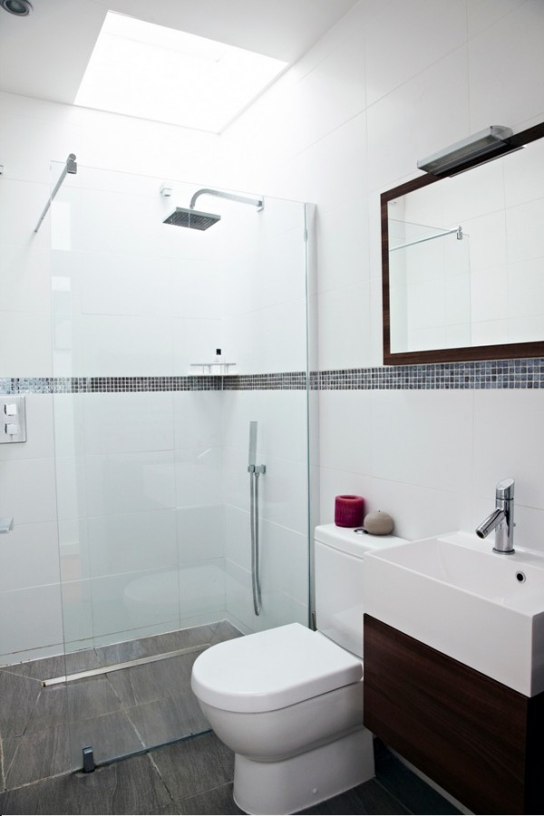 simple bathroom designs house with floor to ceiling glass and beautiful nature views 29898