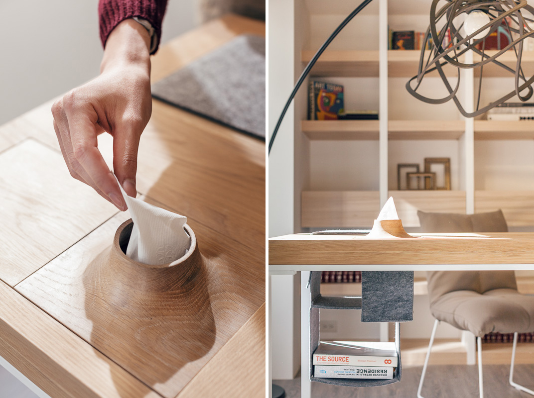 table desk storage | interior design ideas.