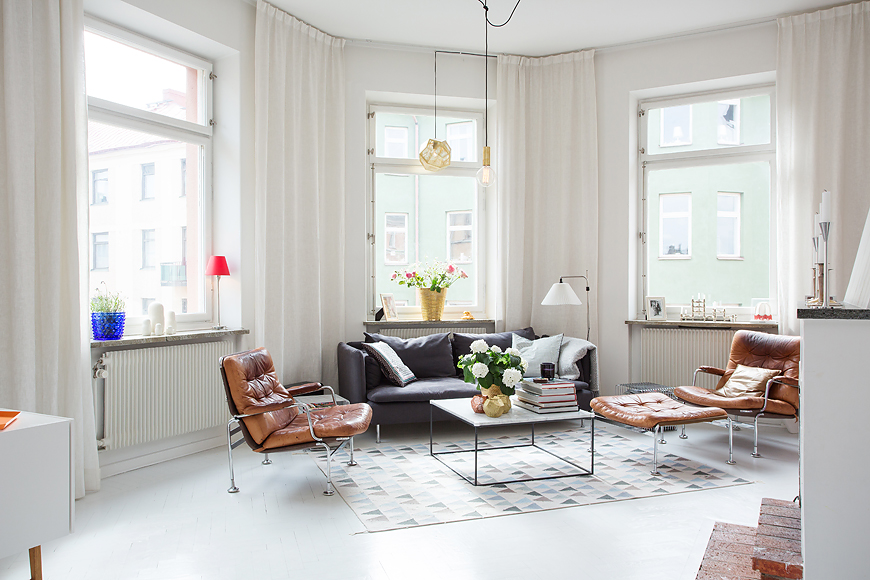 Sunny Swedish Apartment