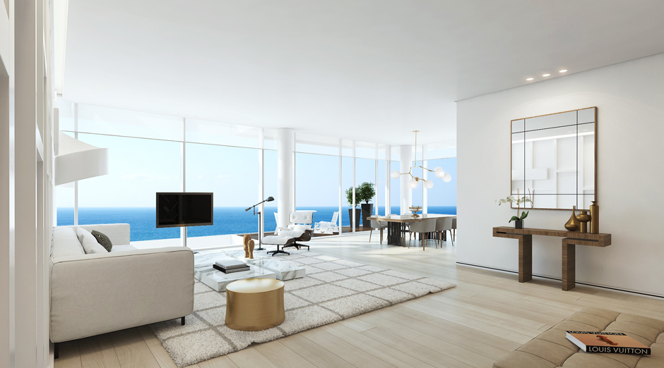 17 white modern apartment