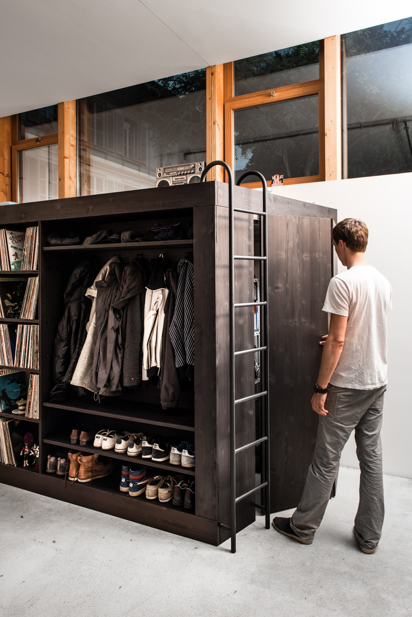 Quot Living Cube Quot Offers Stylish Storage Solution