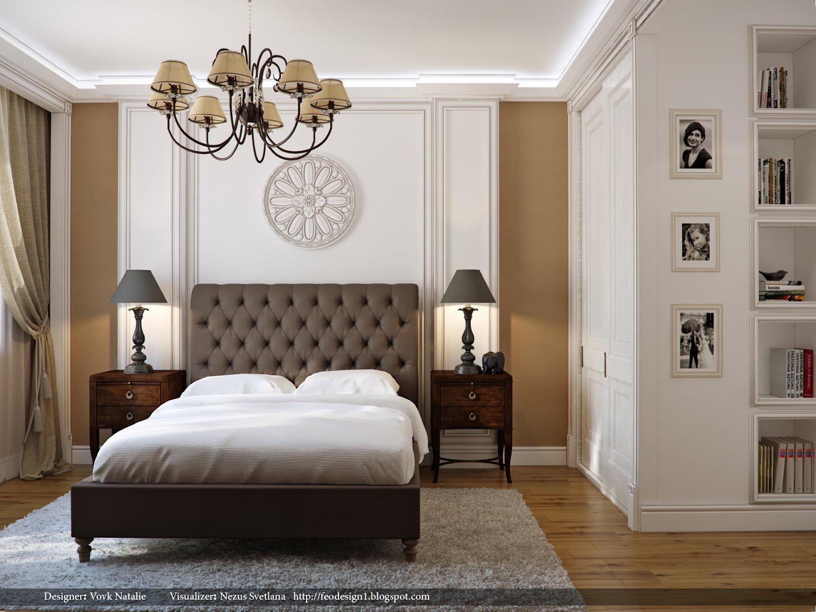 elegant bedroom | Interior Design Ideas.