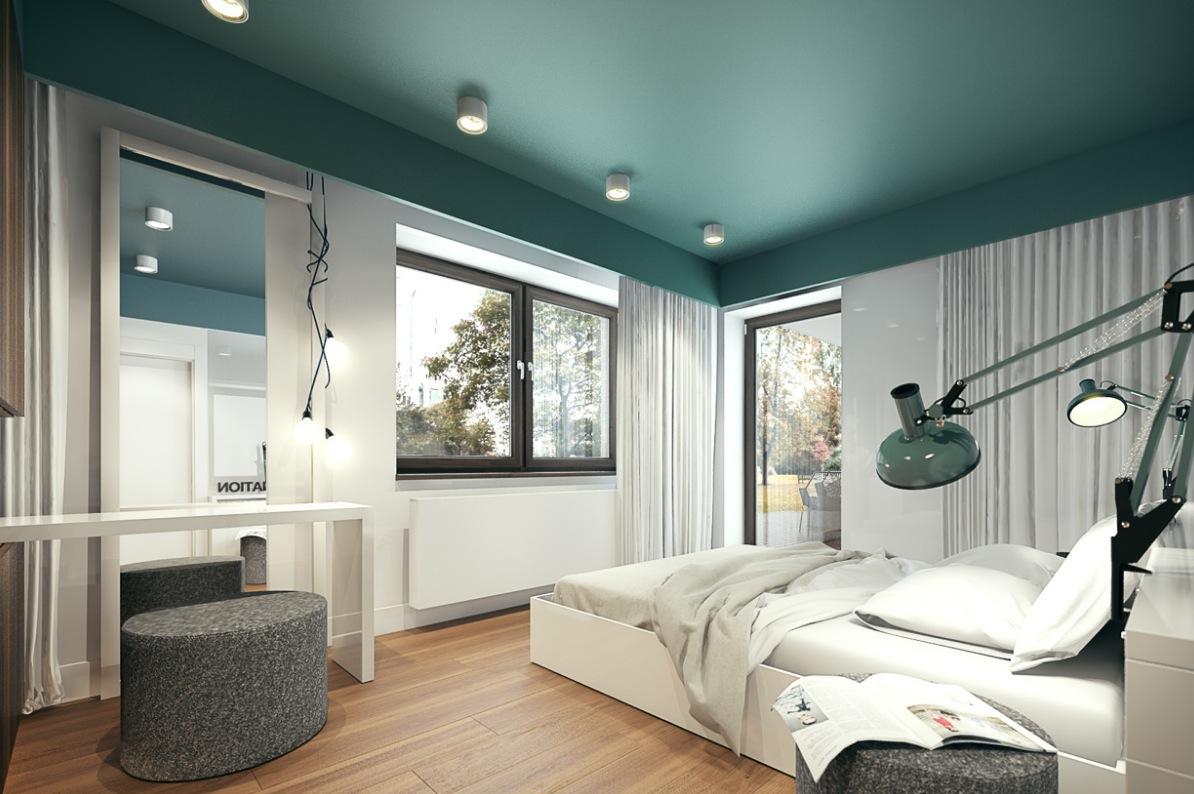 green bedroom | Interior Design Ideas.