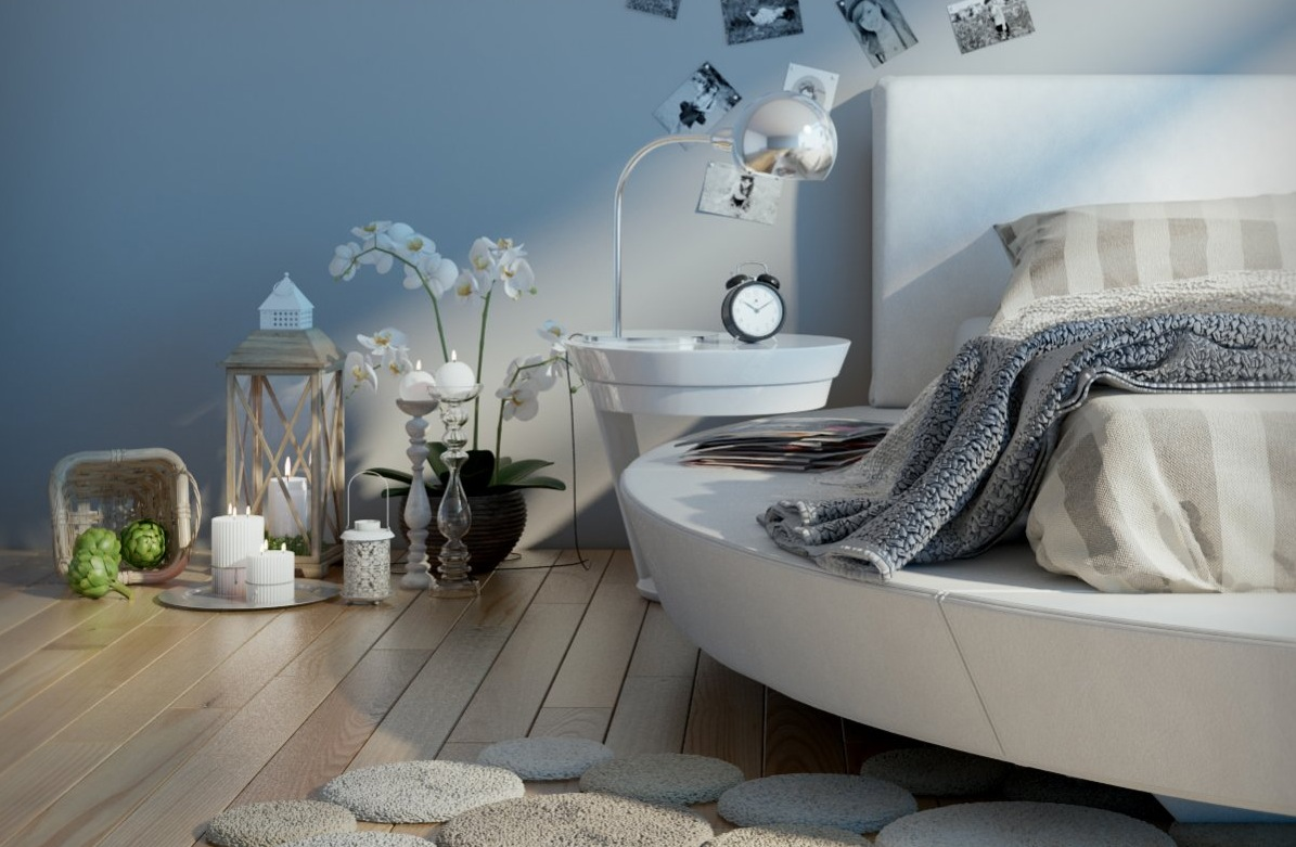 5 modern bedrooms - Bedding and curtains for bedrooms ...