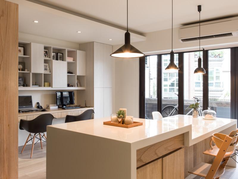 Sparkling urban apartment design