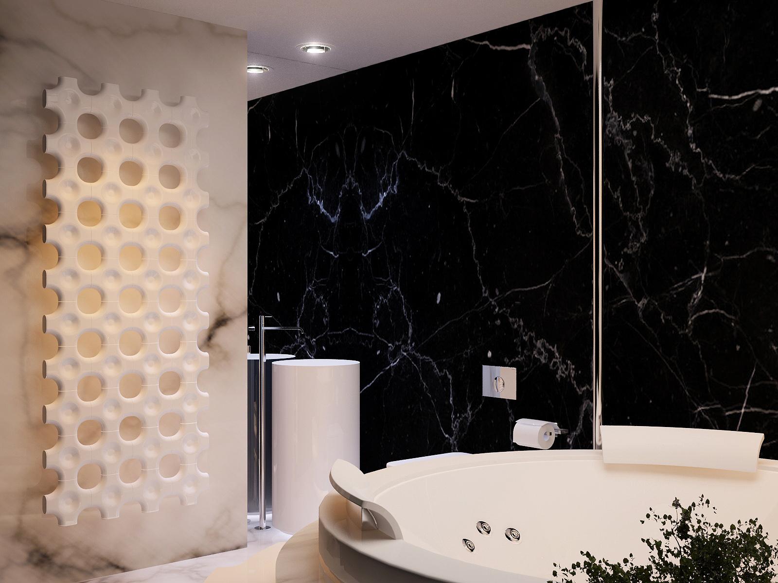 17fc01e34 black marble wall