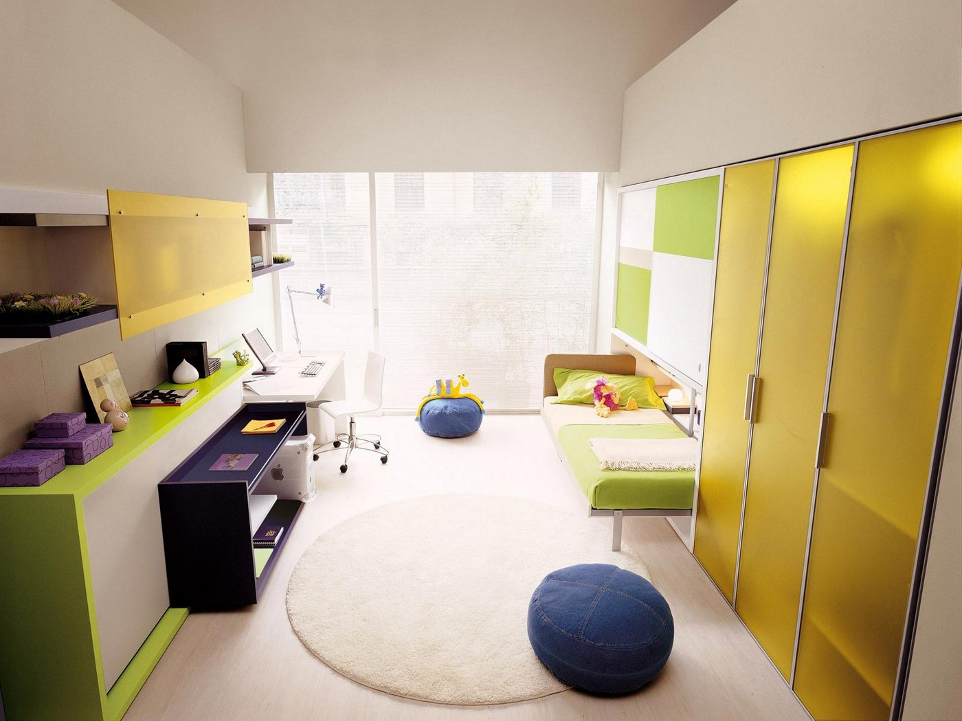 Citrus Color Scheme Interior Design Ideas