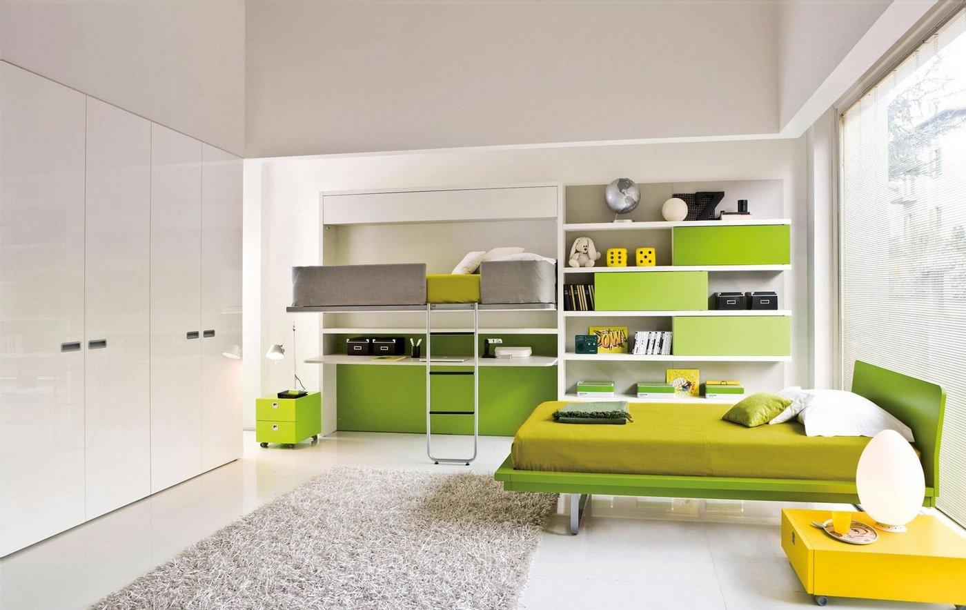 Hidden Bunk Bed Interior Design Ideas