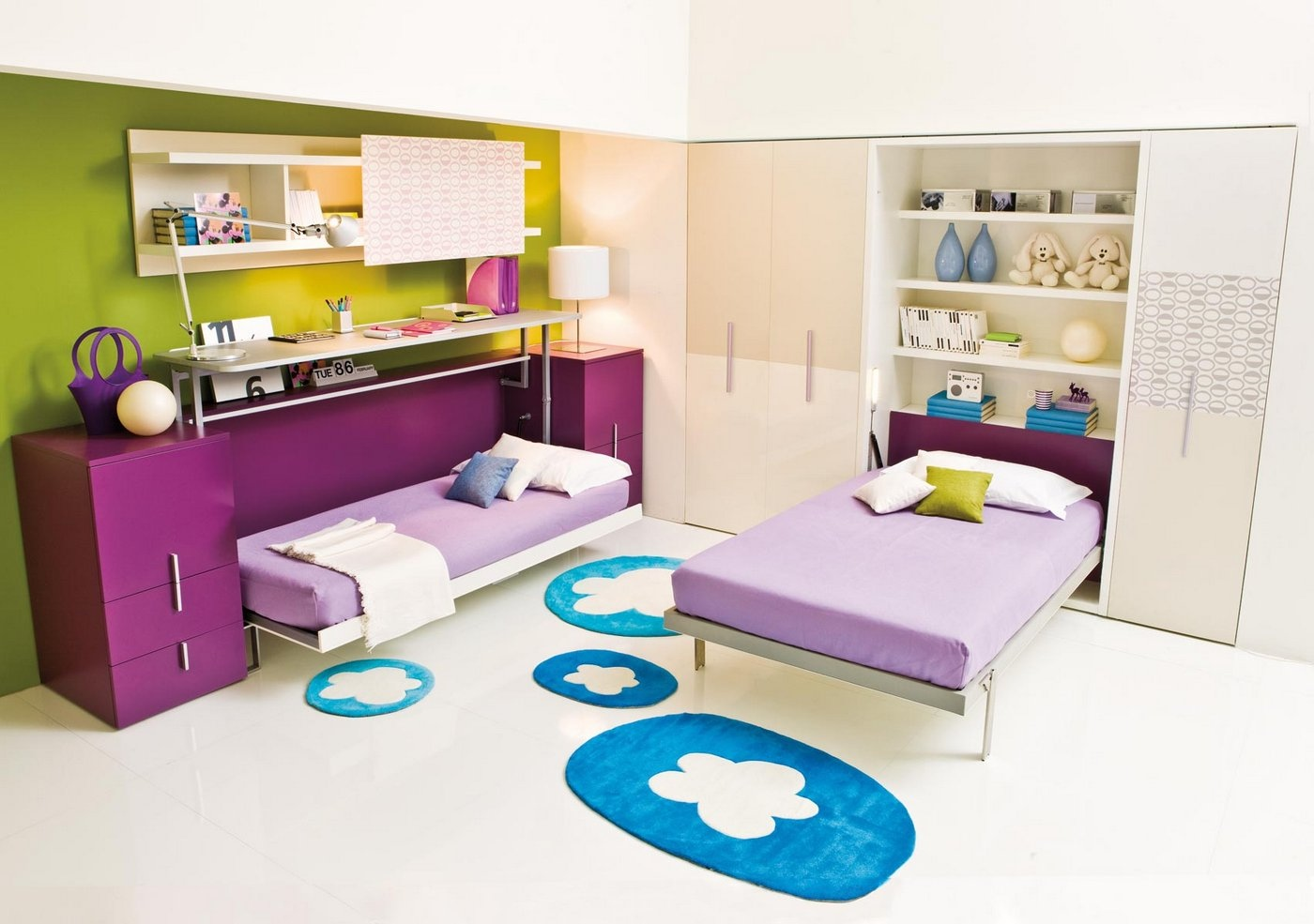 Picture of: Transformable Space Saving Kids Rooms