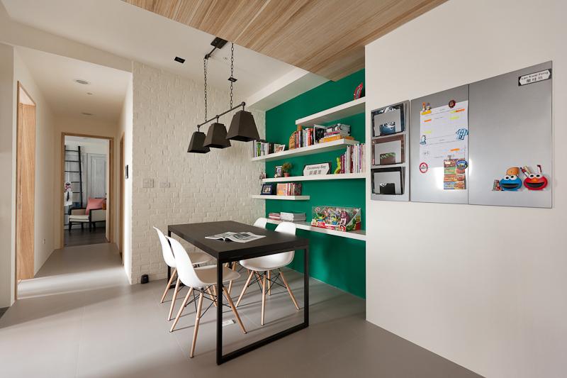 magnetic bulletin board interior design ideas