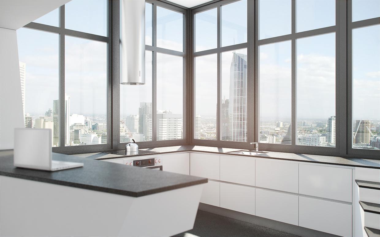 futuristic home interior.  Futuristic Interior Design