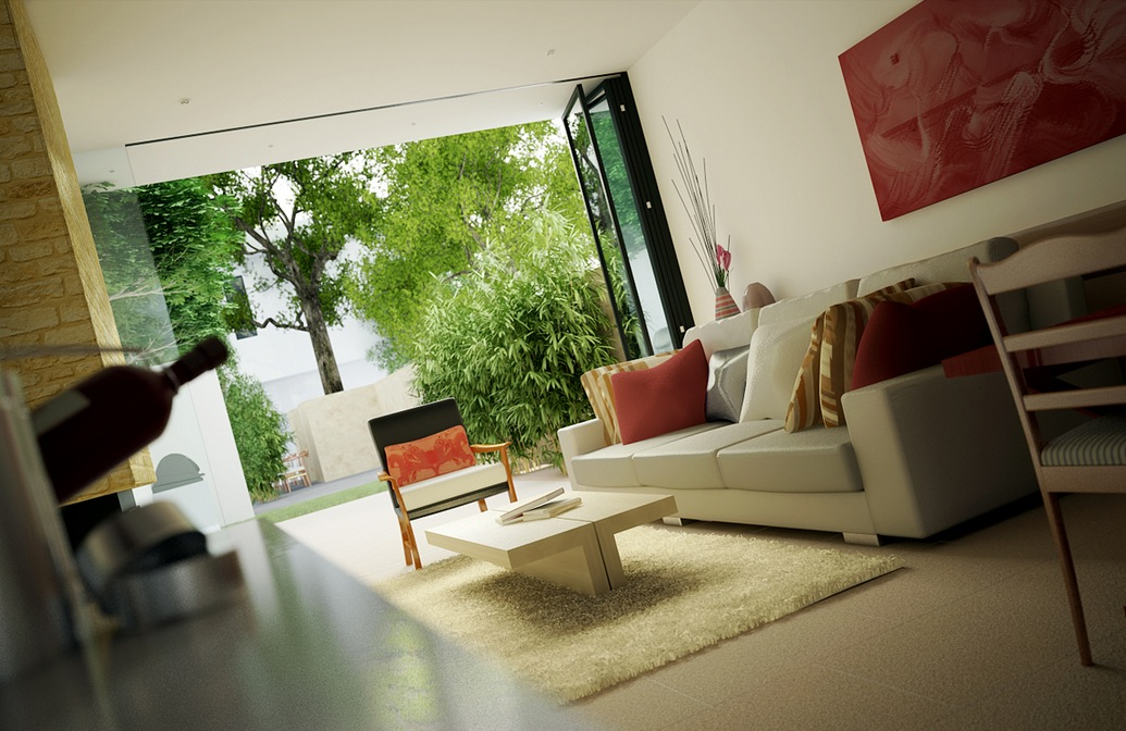 Small Sunny Living Room