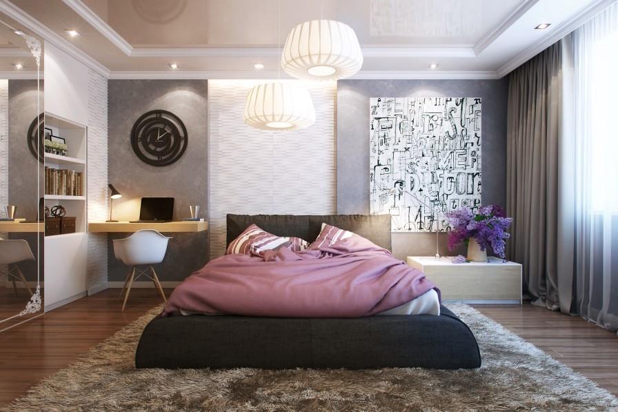 soft bedroom rug | interior design ideas. Bedroom Rug Design