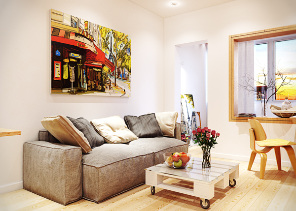 Warm Contemporary Interiors