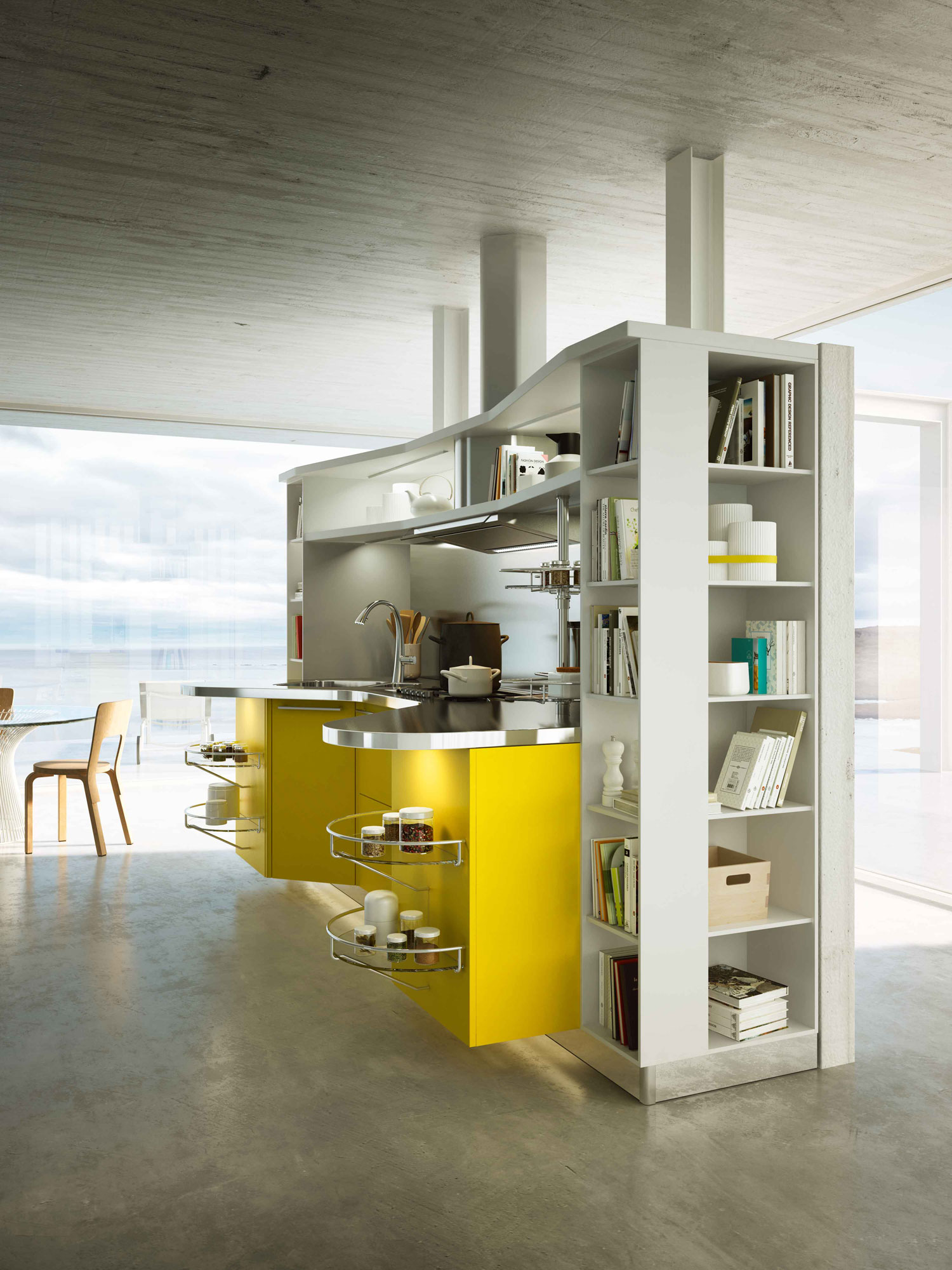 10 Kitchen And Home Decor Items Every 20 Something Needs: Modern Italian Kitchens From Snaidero