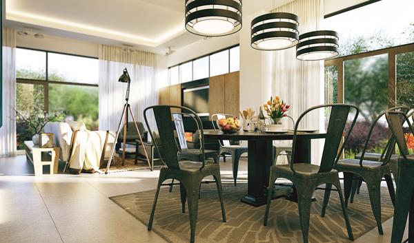vaulted ceiling living room | Interior Design Ideas.