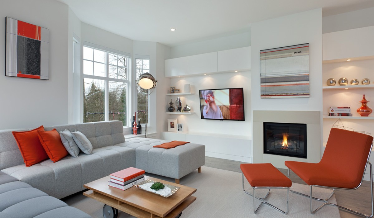 Home Interior Design Ideas For Living Room: Playfully Colorful Interiors