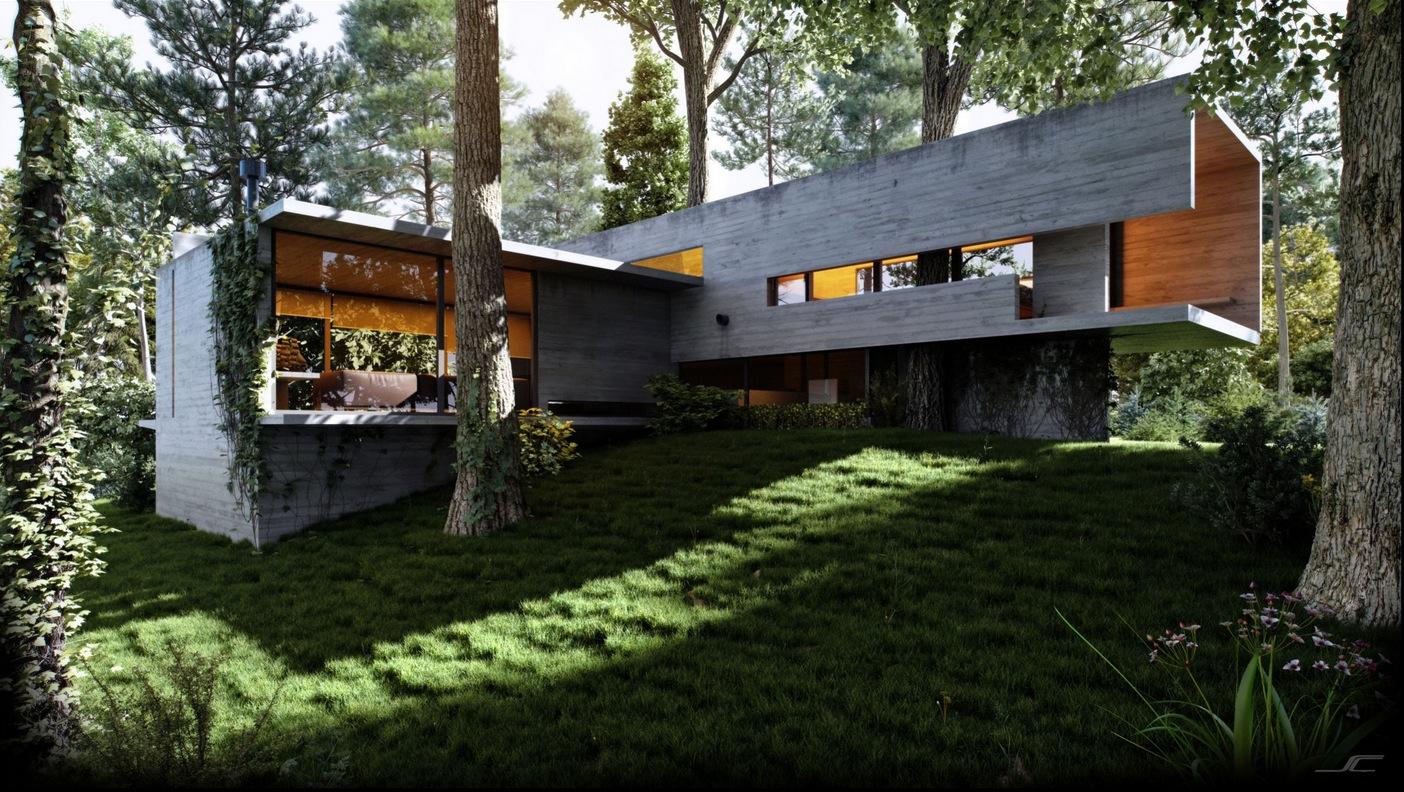 Modern Country Home Interior Design