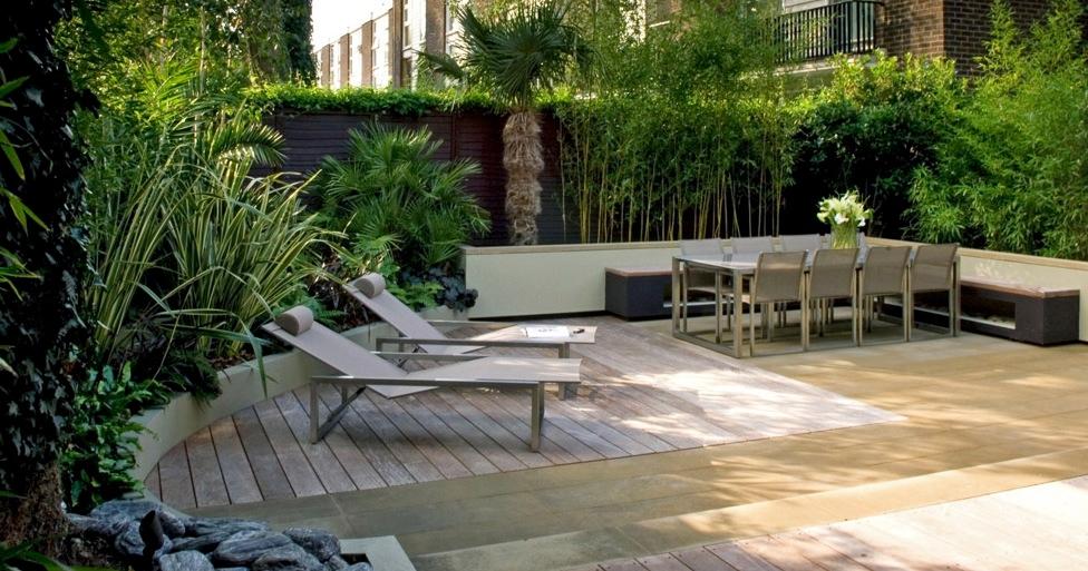 Contemporay Yard Design Interior Design Ideas
