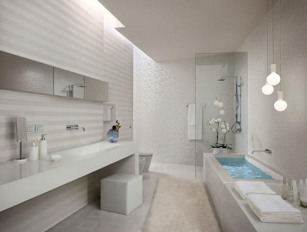 Modern Textured Tiles For Bathroom Ilration Ideas