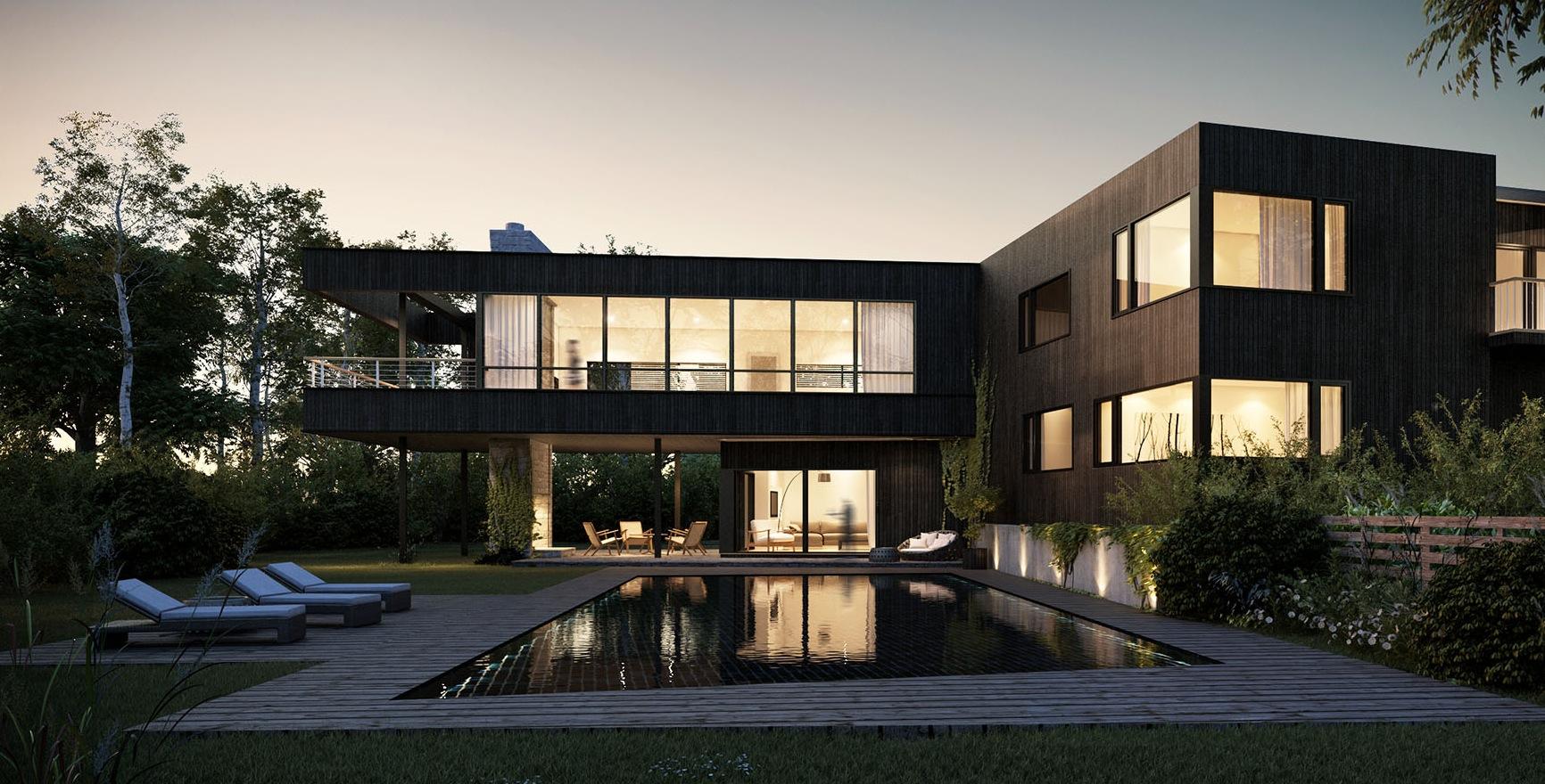 Clean Line Architecture Interior Design Ideas