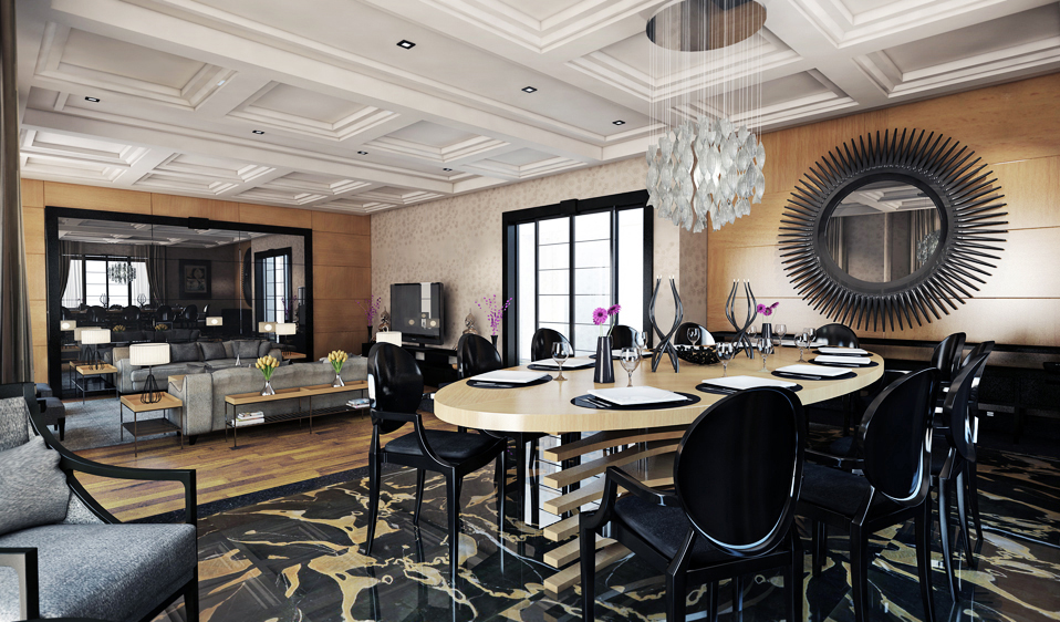 Black Dining Chairs Interior Design Ideas
