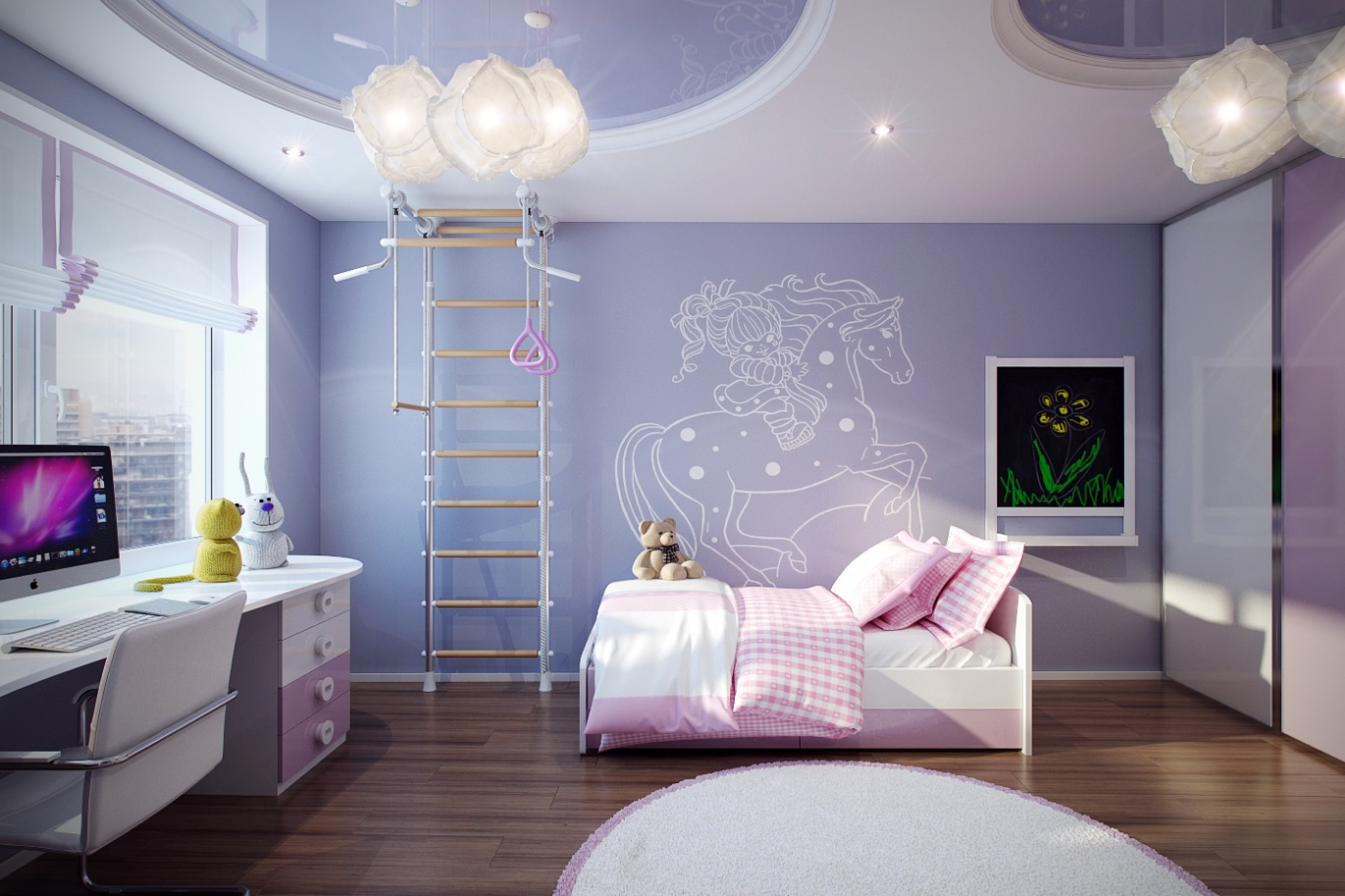 Casting Color Over Kids Rooms on Room For Girls  id=91258