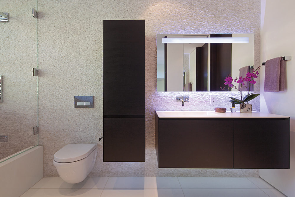 Wenge Bathroom Furniture Interior Design Ideas