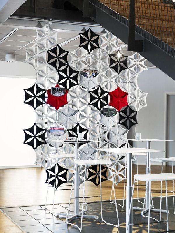 Artsy Room Divider Interior Design Ideas