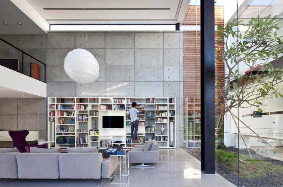 Contemporary Bauhaus Style Home In Haifa