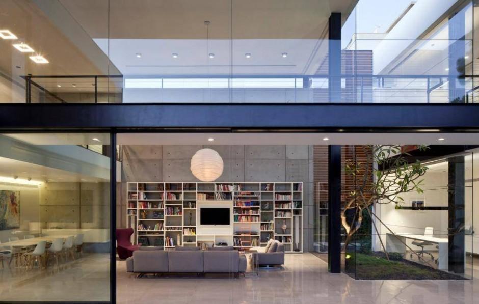Glass Exterior Wallsinterior Design Ideas