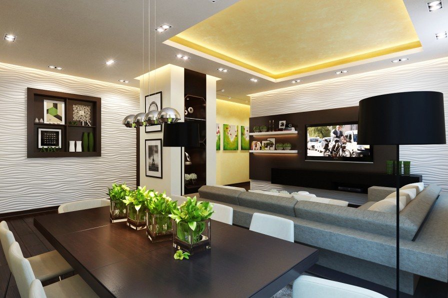 Modern Table Centerpiece Interior