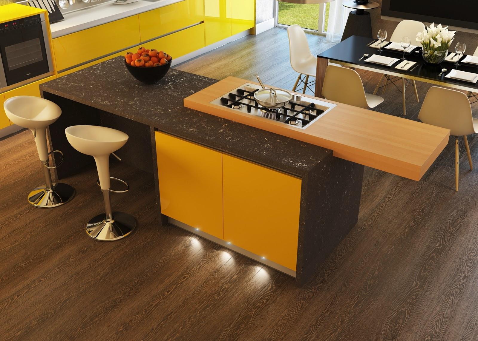 Kitchen Island With Stove Interior Design Ideas