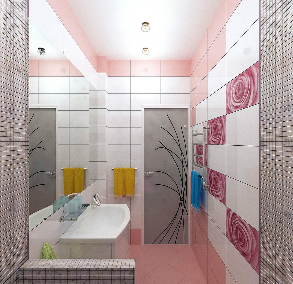 Rose Tilesinterior Design Ideas