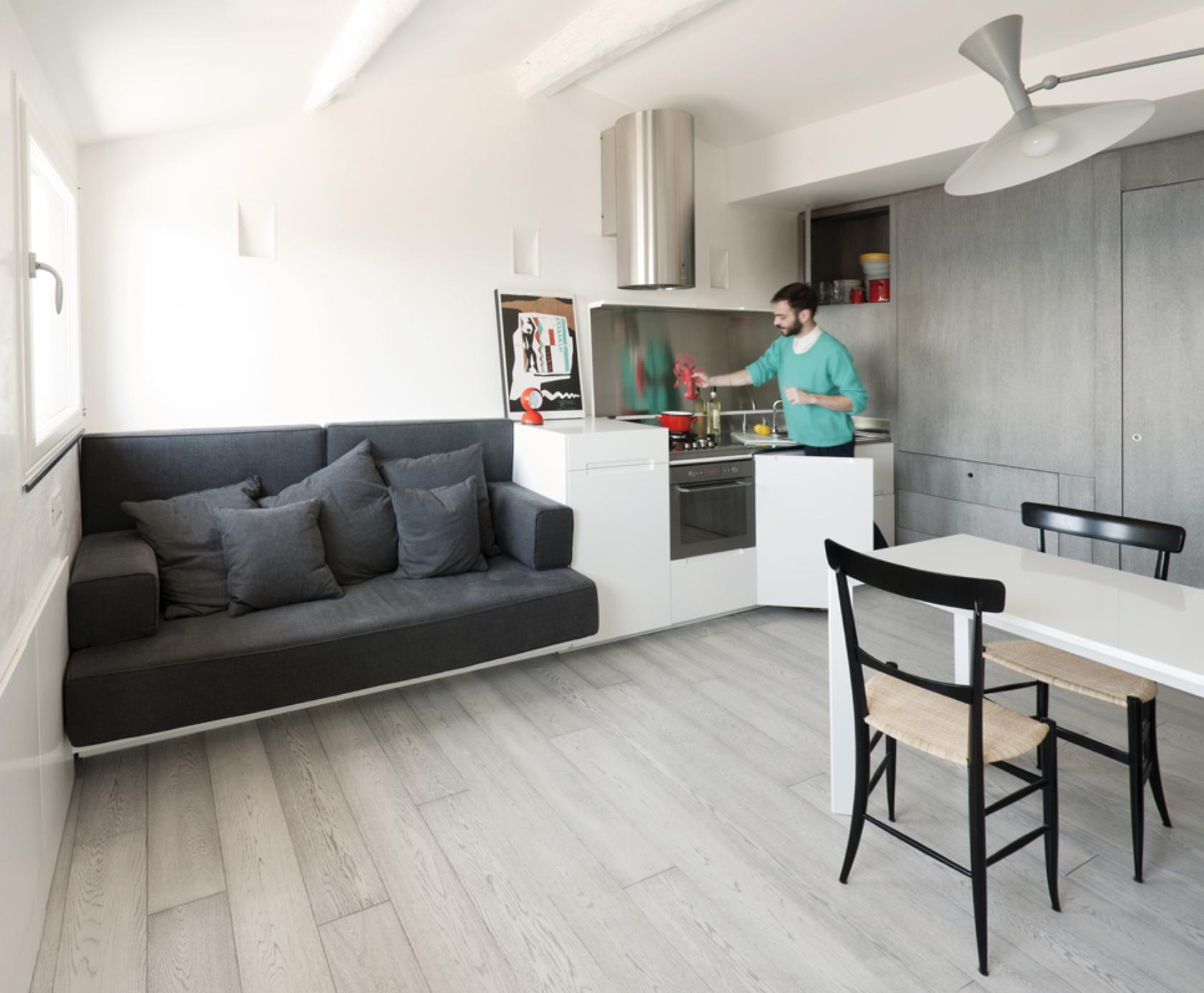 Built In Sofa Interior Design Ideas