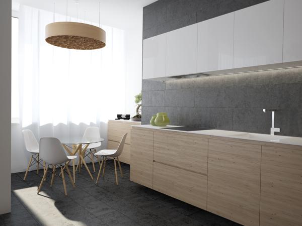 Beech White Kitchen Interior Design Ideas