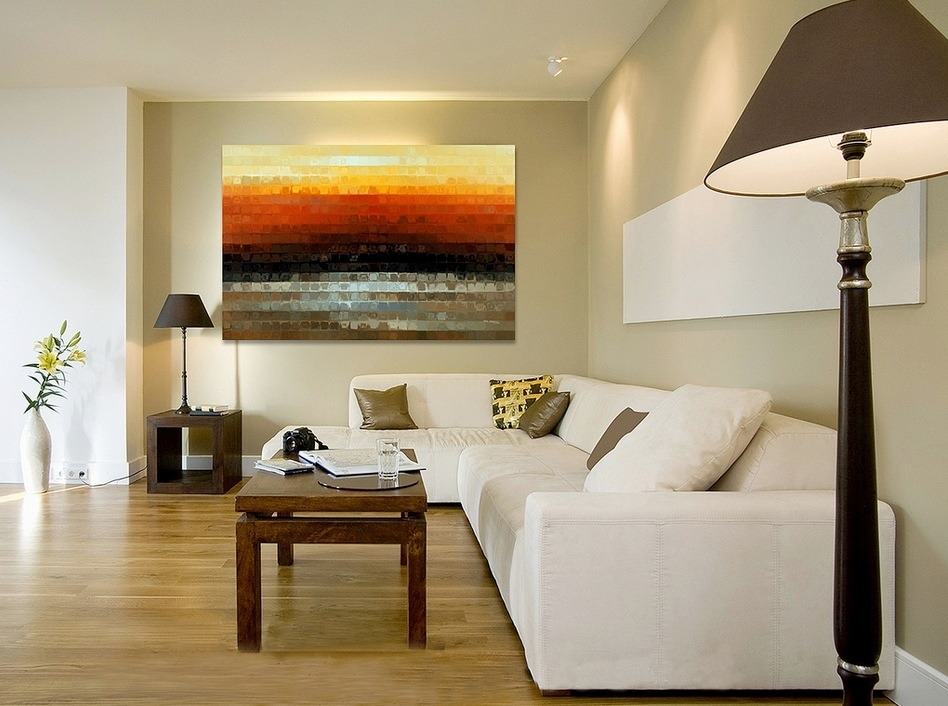 A Modern House Decor: Home Decorating With Modern Art