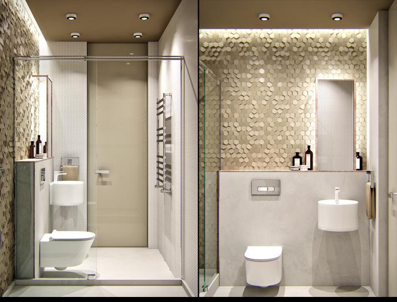 Model Modern Bathroom Wall Tiles Texture