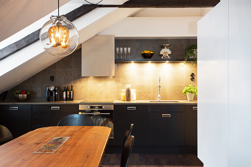 ideas for attic renovation - Swedish Attic Apartment