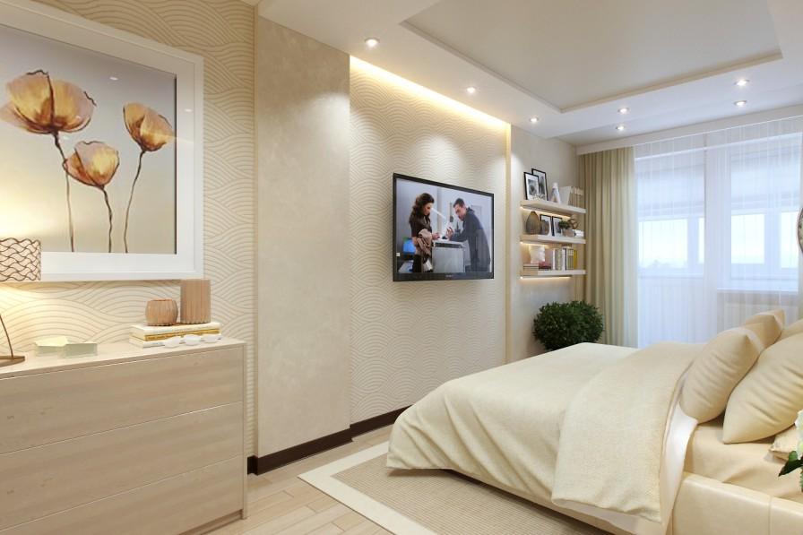 Cream Bedroom Decor Interior Design Ideas