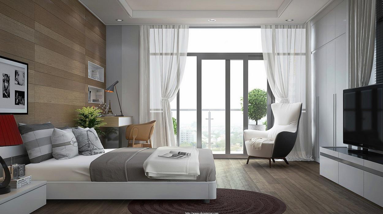 Contemporary bedroom decor | Interior Design Ideas.