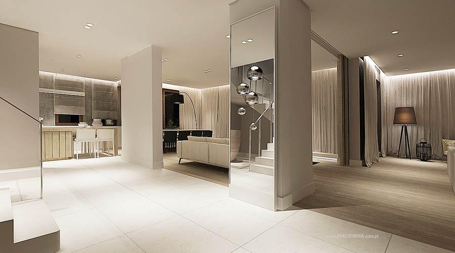 Mirrored column interior design ideas - Interior columns design ideas ...