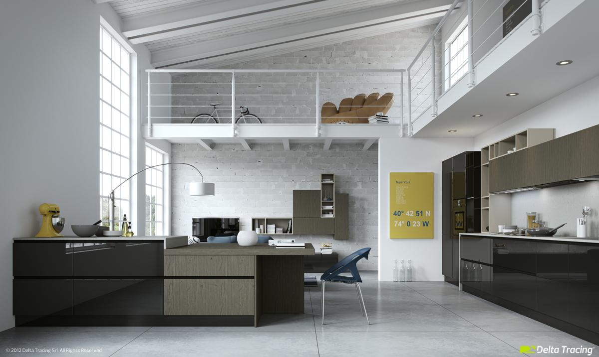 49 White Loft Kitchen Interior Design Ideas