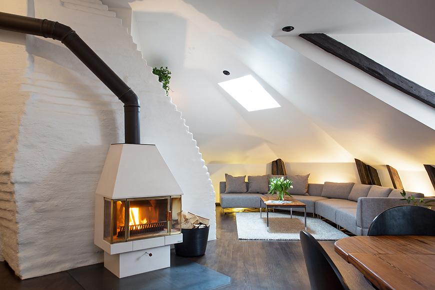 Swedish Attic Apartment