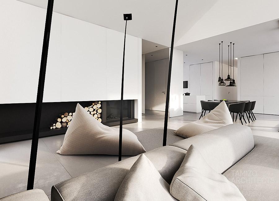 . Modern lounge   Interior Design Ideas