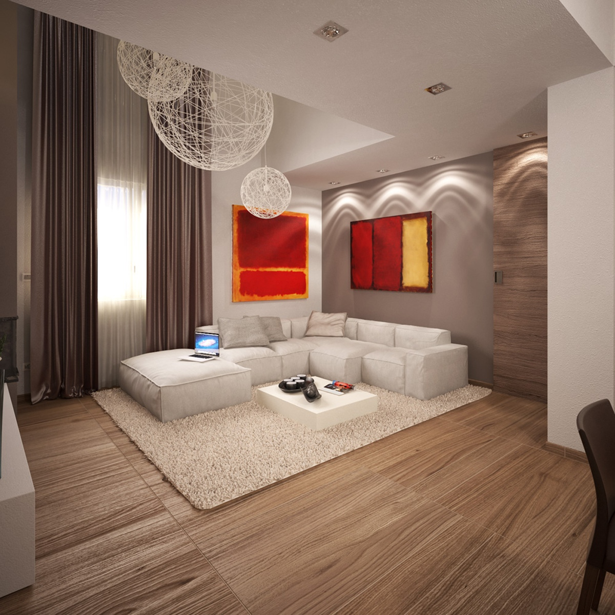 modern apartment living rooms small apartments 16832