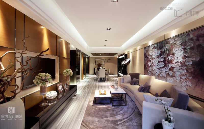 Sophisticated Home With Asian Tone