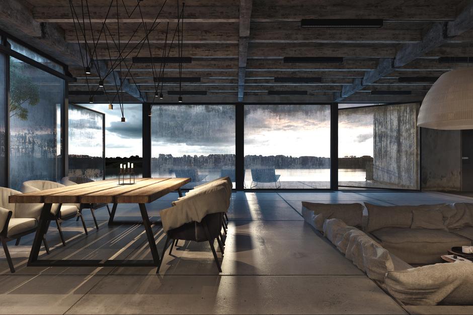 wonderful industrial style home design | Industrial Style Home Design