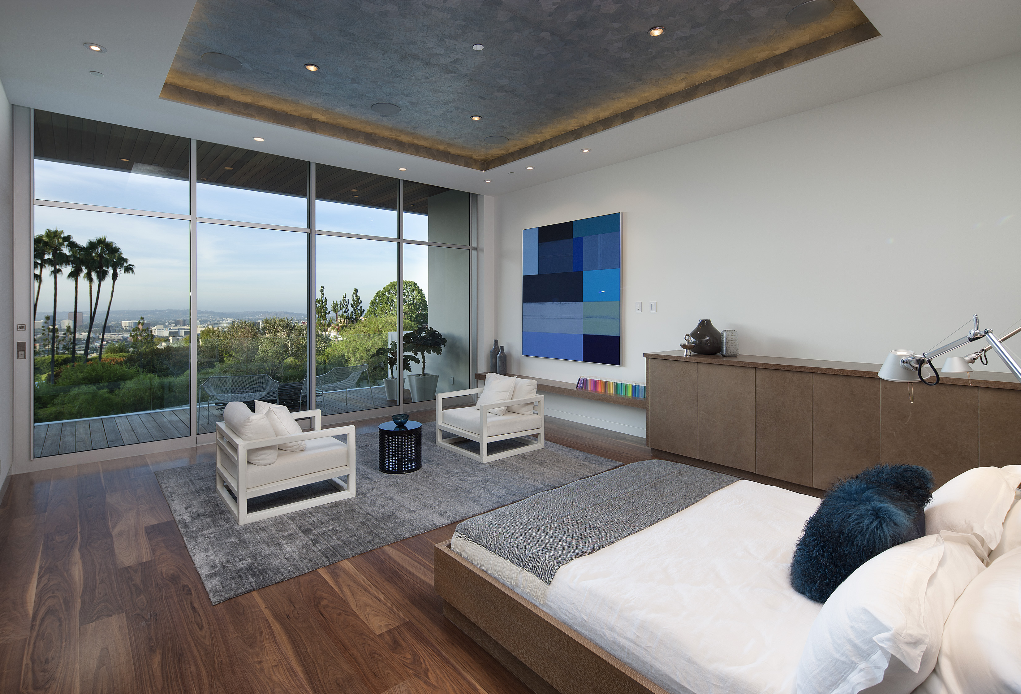 Contemporary architecture and interiors on sunset strip - Modern interior doors los angeles ...